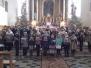8.1.2017 - koncert w wykonaniu uczniów ze Szkoły w Niedźwiadzie Dolnej i adoracja przy żłóbku