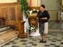 Wizytacja kanoniczna - Msza św. 11.00 i spotkanie z Radą, AK, Caritasem i Chórem