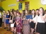 Wizytacja kanoniczna - odwiedziny w Zespole Szkół w Łączkach Kucharskich